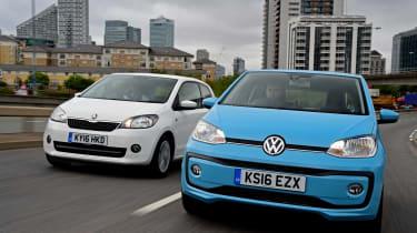 Volkswagen up! vs Skoda Citigo - header