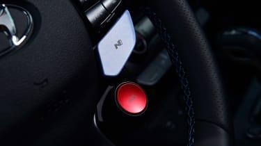 Hyundai Kona N - steering wheel controls
