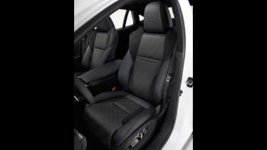 Lexus LS F seats