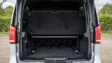 Mercedes V-Class - boot space
