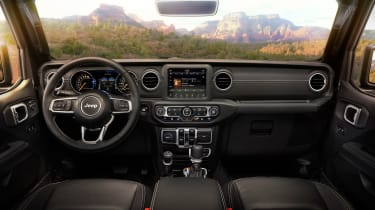 New Jeep Wrangler - interior