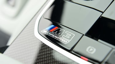 BMW M3 Competition - interior detail