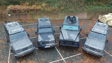 Ovik vehicles overhead