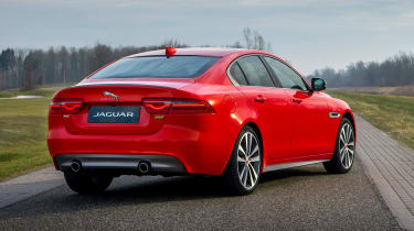 Jaguar XE and XF launched - rear