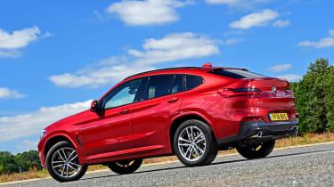 BMW X4 - rear
