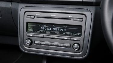 Skoda Fabia Estate stereo