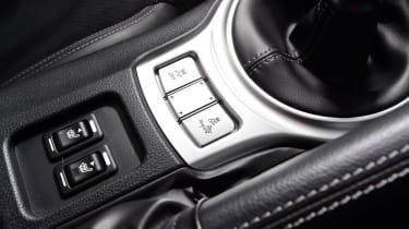 Toyota GT86 - centre console