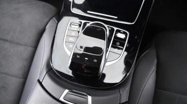 Mercedes E-Class Estate - centre console