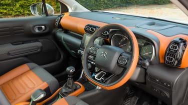 Citroen C3 Aircross - steering wheel
