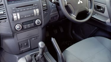 Mitsubishi 4Work SWB interior dashboard