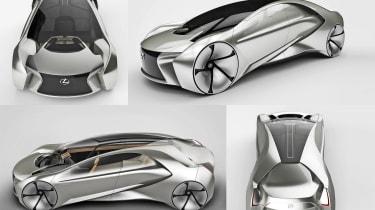 Car design - Lexus LF-CS by Yuki Isogai