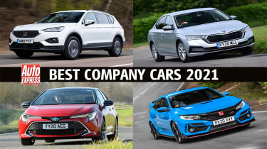 Best company car 2021 - header image