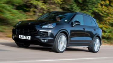 Used Porsche Cayenne - front action