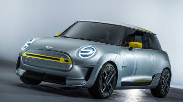 MINI Electric concept - front/side