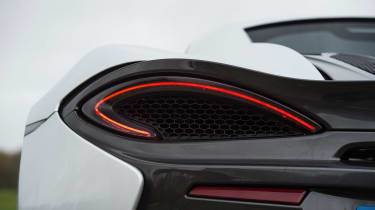 McLaren 540C - rear light detail