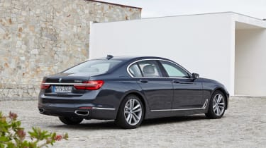 New BMW 7 Series 2015 rear static