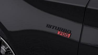Brabus 700 badge