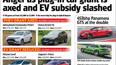 ev subsidy slashed