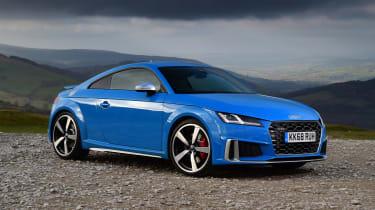 Audi TTS - front static