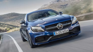 Mercedes-AMG C 63 S Coupe nose