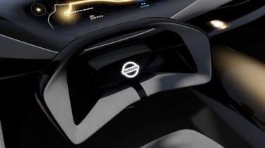 Nissan IMQ concept - steering wheel detail