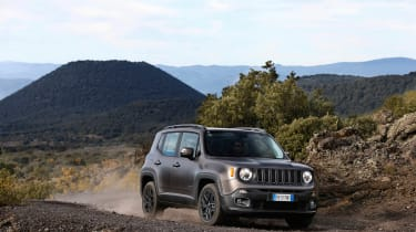 Jeep Renegade Night Eagle front side