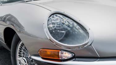 Jaguar E-Type Zero - front light
