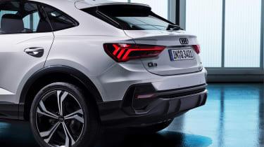 Audi Q3 Sportback - studio rear detail