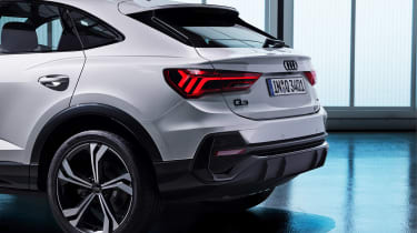 Audi Q3 Sportback - studio rear detail