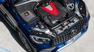 Mercedes-AMG GLC 43 2019 facelift engine