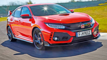 Best new cars of 2017: our road tests of the year - Honda Civic Type R