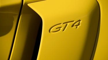 Porsche Cayman GT4 detail