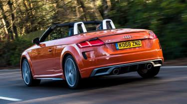 Audi TT Roadster - rear