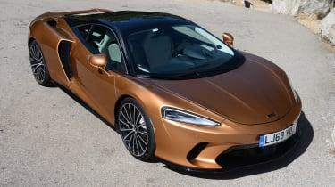 McLaren GT - front above