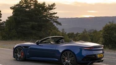 Aston Martin DBS Superleggera Volante - rear static