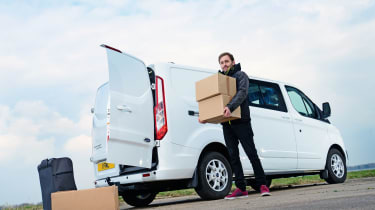 Ford Transit Custom Double-Cab - Long term report 1