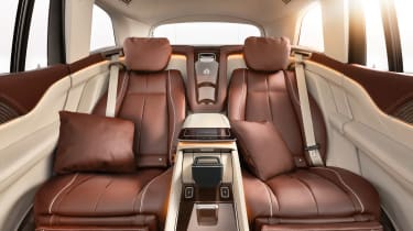 Mercedes-Maybach GLS - seats