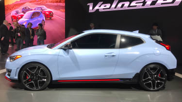 New Hyundai Veloster N - Detroit side
