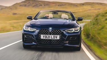 BMW M440i Convertible - full front