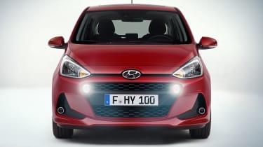 Hyundai i10 2016 facelift - front