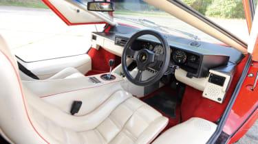 Lamborghini Countach 5000 QV dash