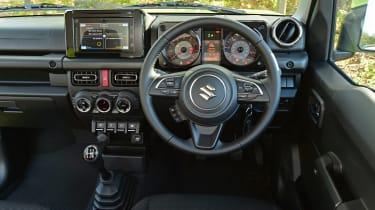 Suzuki Jimny - dash