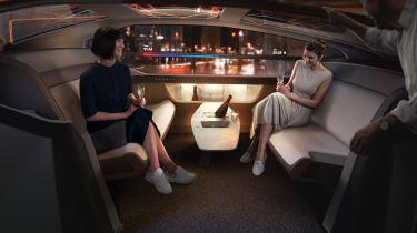 Volvo 360c concept - interior