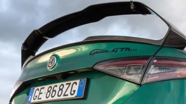 Alfa Romeo Giulia GTAm - rear wing