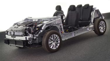 Peugeot Citroen EMP2 platform front