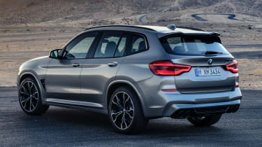 BMW X3M - rear static