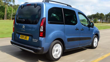 Citroen Berlingo 2016 - rear tracking