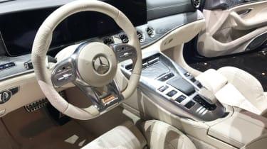 Mercedes-AMG GT four-door - Geneva dash