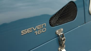 Caterham Seven 160 badge