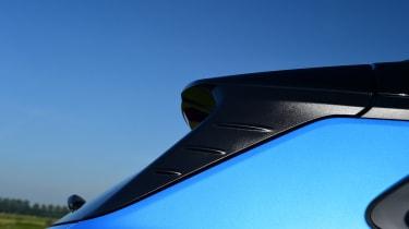 Hyundai Kona Hybrid - rear three quarter